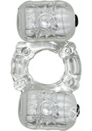 The Macho Crystal Collection Partners Pleasure Ring 7...