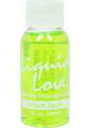 Liquid Love Warming Massage Lotion...