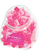 Id Moments Water Based Lubricant .42 Ounce 72 Pieces Per...