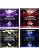 Id 3 Pack Lubricated Condoms Assorted 18 Packs Per Case