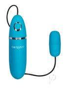 Power Play Playful Silicone Bullet Waterproof Teal 2.25 Inch
