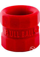 Bullballs 1 Silicone Ballstretcher Red 2 Inch