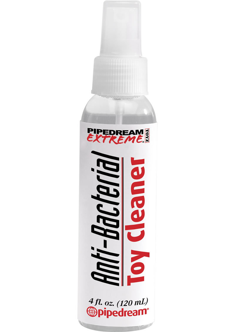 Pipedream Extreme Anti Bacterial Toy Cleaner 4 Ounce Spray