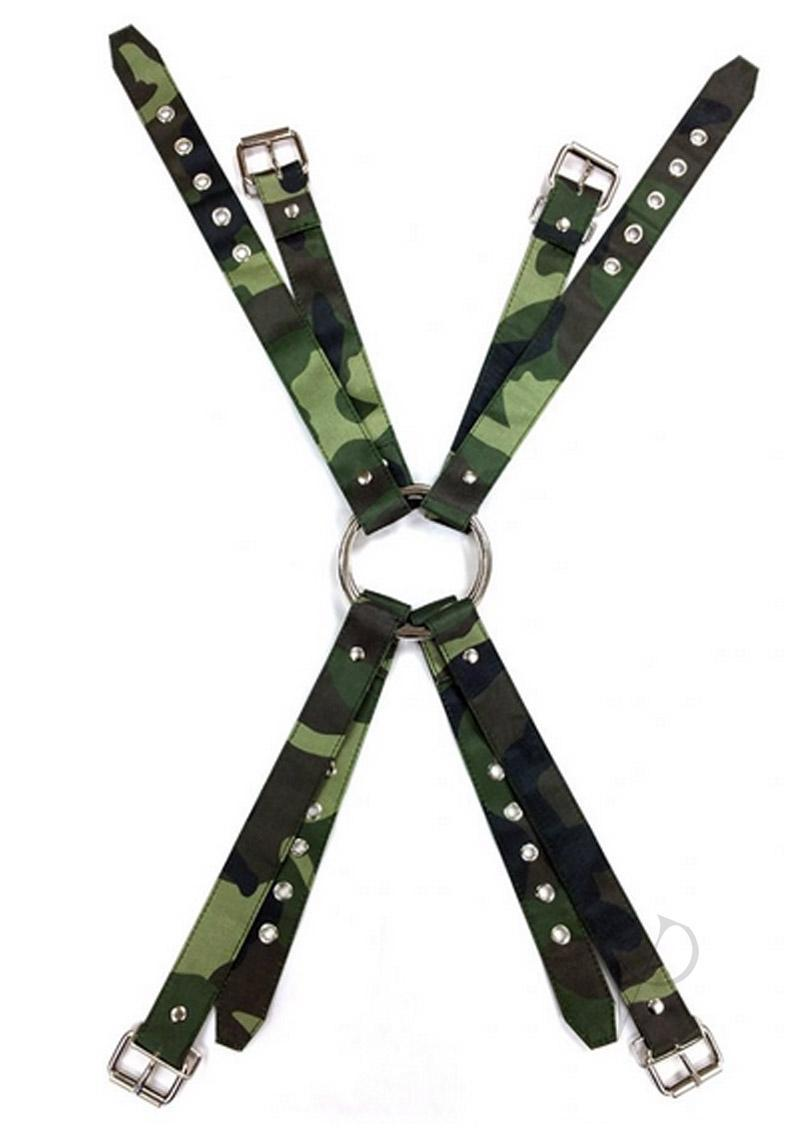 Rouge Army Camouflage Chest Harness Extra Large